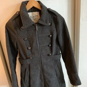 American Rag Grey Trench Coat
